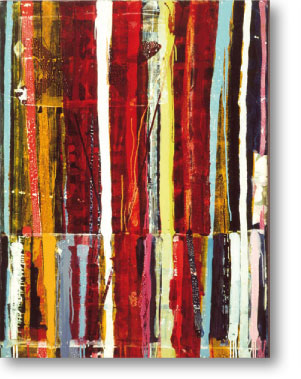 Clearwater I, 2003, mixed media/canvas, 135cm x 100cm