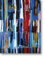 Clearwater III, 2004, mixed media/canvas, 135cm x 100cm