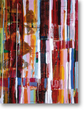 Clearwater V, 2004, mixed media/canvas, 135cm x 100cm