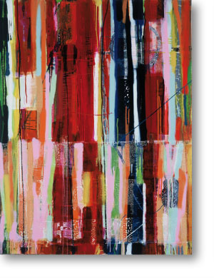 Clearwater IV, 2004, mixed media/canvas, 155cm x 120cm