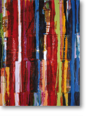 Clearwater IV, 2004, mixed media/canvas, 135cm x 100cm